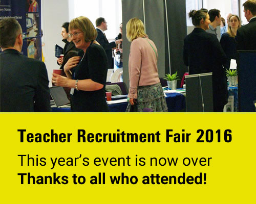 Teacher Recruitment Fair 2016 thanks