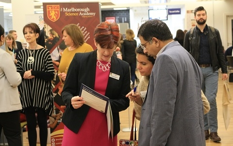 Hertfordshire schools meet over 560 job hunters at the award-winning Teach in Herts Teacher Recruitment Fair